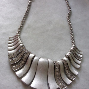 Large bold statement necklace  Erica Lyons